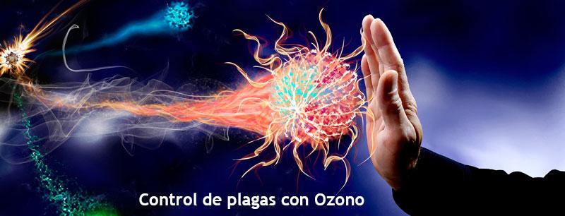 Control de plagas con ozono